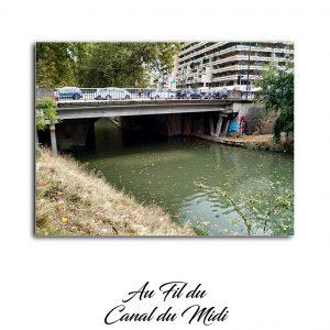 Photo du canal du midi lors de ma randonnée