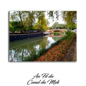 Photo lors de ma randonnée au fil du canal du midi